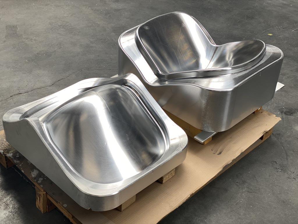 Moule aluminium de thermo-compression réalisés sur base d'une fonderie