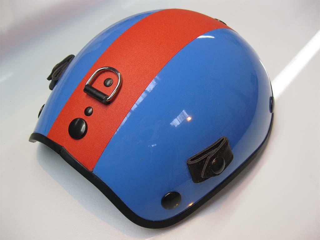 Réalisation d'une pièce en matériau composite qui servira à concevoir un casque de protection dans l'aéronavale