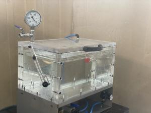 Réalisation d_une machine de test d_étanchéité pour flacons, sachets et pots plastiques