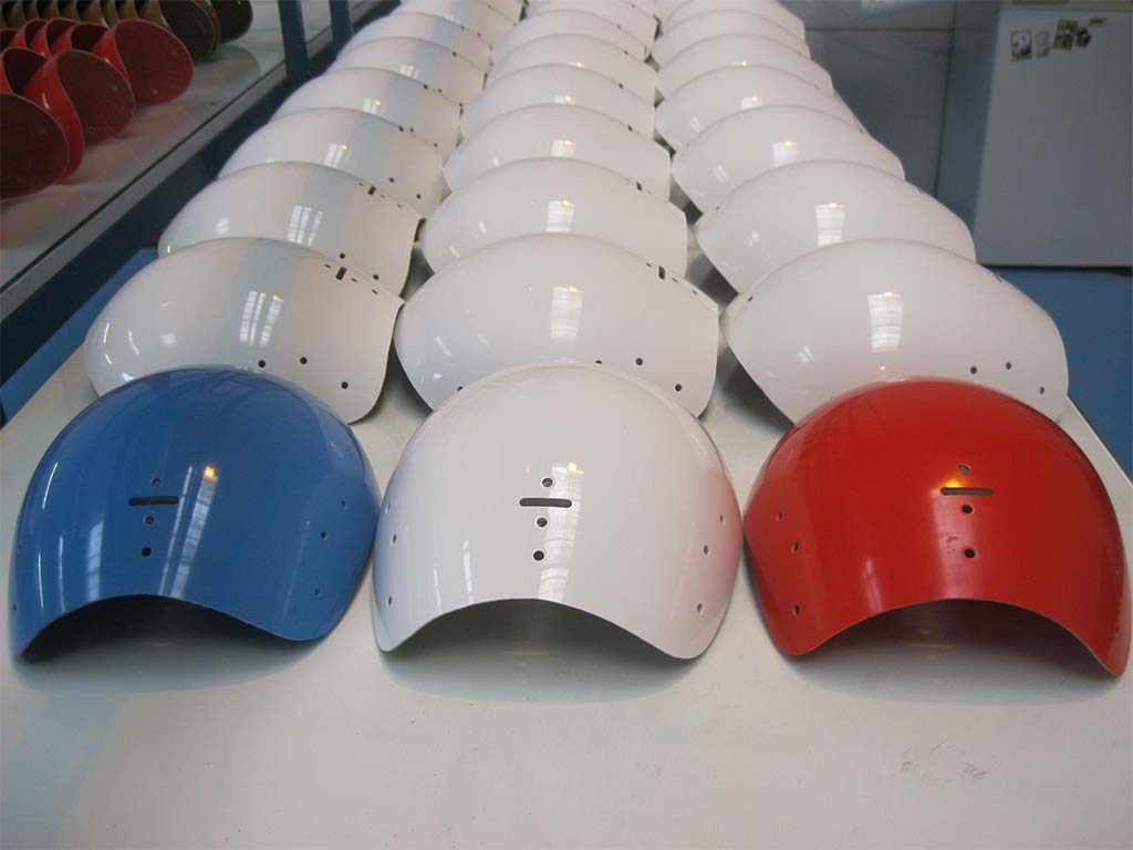 Série de pièces composites moulées & réusinées réalisées dans nos ateliers
