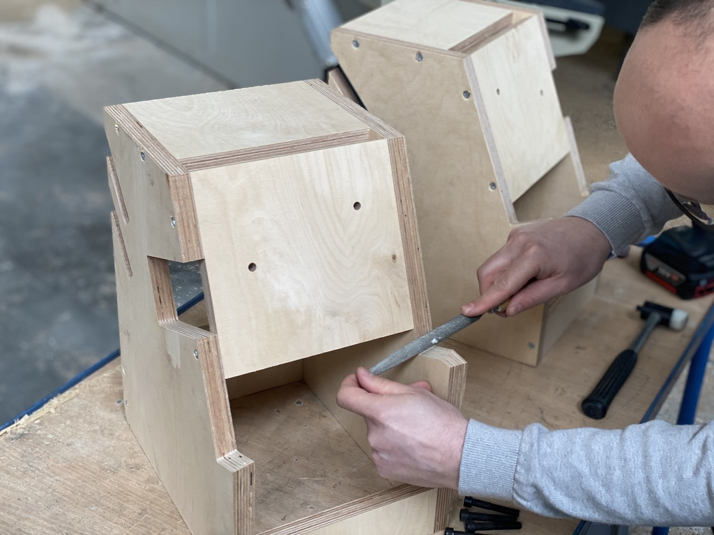 Nous réalisations en interne tous les caissons bois que réclament nos clients.